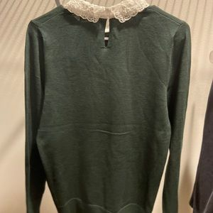 Women's Medium Green Sweater